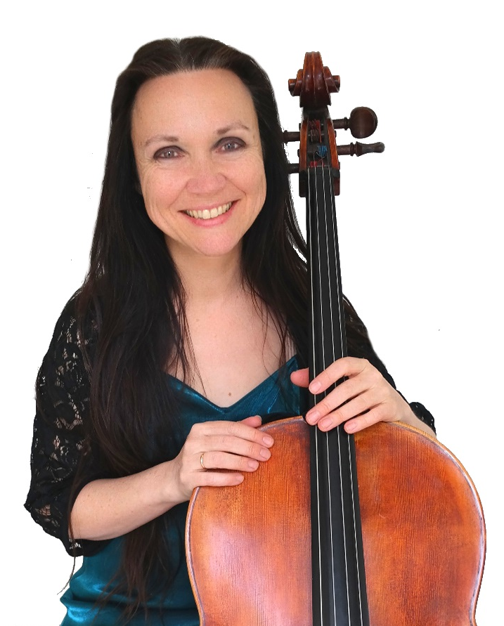 Jacqui Johnson, cello